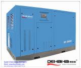 compresseur variable de vis de vitesse de refroidissement par eau de 300HP 1225.4cfm