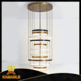 Ring Stainless Steel Hotel LED Pendant Hanging Lamp (KAF6050)