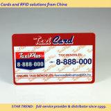 Plastikkarte mit Hico/Loco-magnetischem Streifen für Taxi-Karte