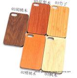 Cassa sottile di legno di bambù della copertura per il iPhone