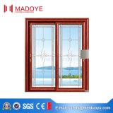 Porte coulissante en verre des graines en bois de modèle moderne