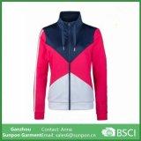 여자의 스포츠 획일한 방풍 스포츠 재킷