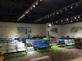 在庫の普及したステンレス鋼の高品質の公立病院の訪問者の椅子4のSeater空港椅子888#