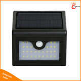 28LED étanche solaire PIR Motion Sensor Lampe solaire extérieure Pathway Garden Light