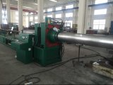 El tubo corrugado de metal flexible que hace la máquina