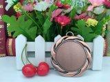 Médaille en bronze personnalisée de 2017 sports 3D avec la lanière ordinaire