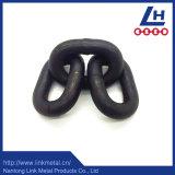 Ossido nero all'ingrosso di G80 13*80 che frusta la catena a maglia lunga