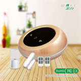 El sistema de alarma elegante del G/M WiFi del hogar con la batería inferior recuerda la función