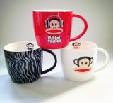 2017 nuove tazze di caffè rese personali di ceramica variopinte