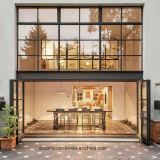 CY-Hauptgitter-Entwurfs-Fenster-Fenstertür-hölzernes Korn-Fenster