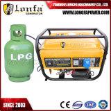 2kw/2kVA si dirigono il gas di potere di uso/generatore portatili della benzina GPL