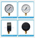 Black Steel Pressure Gauge-Silicone Pressure Gauge-Lower Entry Pressure Gauge