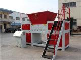 De dubbele Machine van de Ontvezelmachine van de Schacht voor Al Plastiek