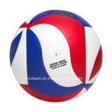 Voleibol impreso aduana destacada de la universidad de la insignia