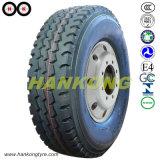 La posición de todos los neumáticos para camiones de acero, el neumático radial