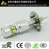12V 50W LED 차 빛 T10 T20 의 H1/H3h16 Pw24 가벼운 소켓 크리 사람 Xbd 코어를 가진 고성능 LED 자동 안개 램프 헤드라이트
