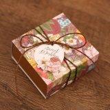 2017 La más nueva venta caliente de la caja de regalo de boda de chocolate