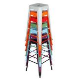 多彩な金属の腰掛けの販売の金属のアルミニウムビストロの椅子の製造