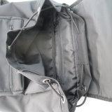 Lazer Preto unissexo mochila para roupa suja