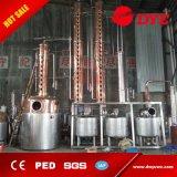 Columna de cobre de las ventas calientes/equipo de cobre de la destilación/alambiques de cobre del crisol