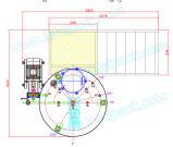 depósito mezclador para cosméticos o bebida (CAC-200A)