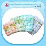 Impreso de la fábrica China 100% algodón tipo Pañal Desechable del recién nacido