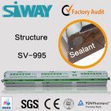 Joint silicone structurel pour l'aluminium d'administration et les alliages de joint de collage