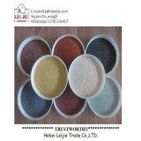 Natürlicher und künstlicher Sand-Farben-Sand-Kiesel-Dekoration-Sand