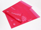 Sacchetto di plastica della guarnizione della posta di modo su ordinazione di colore rosso del LDPE con il marchio su ordinazione