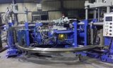 Automatische zwei Farbe Belüftung-Regen-Aufladung/Gumboots, das Maschine herstellt