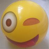 30cm Durchmesser Belüftung-oder TPU aufblasbares Gesicht, das Kugel spielt