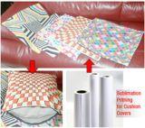 """78"""" 100"""" Papel de sublimación Ancho Fa120GSM secado rápido Colorante para impresoras de gran formato en poliéster Sustratos"""