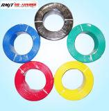 Conduta de cobre / alumínio com isolamento de PVC e fio de caixa embutida