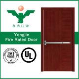 puerta clasificada del fuego de acero del apartamento 60mins para la entrada