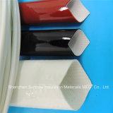 Manicotti e tubi Braided dell'isolamento della vetroresina rivestita elettrica rivestita di silicone del collegare