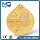 Qualität kundenspezifische Herausforderungs-GoldSilbermedaille