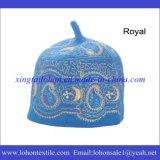 アフリカの帽子のウールのフェルト材料、イスラム教の刺繍の帽子、新式の祝祭の帽子