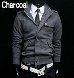Куртка 100% ватки вскользь людей способа ворота стойки хлопка способа