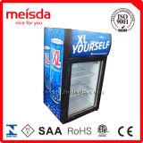 Un escaparate más fresco, refrigerador de cristal de la visualización de la puerta