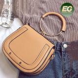 長いストラップSy8400が付いているリングのハンドルの女性のCrossbody円の袋が付いている新しいデザイン方法女性ハンドバッグ