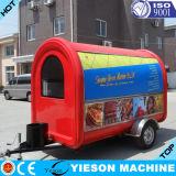 Matériel mobile de camion de nourriture de type célèbre mini à vendre