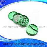 Hot Sale alliage aluminium de haute qualité couleur Herb meuleuse