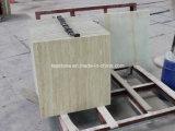 Lastre bianche eccellenti del travertino per la parete e la pavimentazione