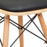 의자 W17812를 식사하는 Eames 작풍 직물 Bentwood