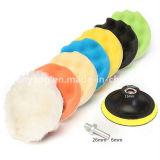 Roda de lustro da esponja do fornecedor/disco/carro de lustro da esponja que lustra e almofadas de polonês