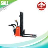 Cheap eléctrico completo Apiladora 1-2 ton/ con motor AC o DC.