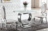 Tableau dinant à la maison d'acier inoxydable de meubles (A6008)