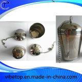 Infusor de chá de aço inoxidável feito sob encomenda do fabricante da China