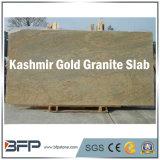 Lastre del granito dell'India del granito dell'oro del Kashmir dell'inclusione per la decorazione dell'interno