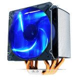 Ccr6una CPU el radiador de cobre con tubería de calor con aprobaciones